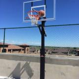 Stuck basketball