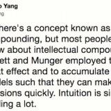 Sizhao Yang tweets on thinking