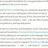 Scala 3: Tasty, and the plan for macros