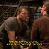 Firefly: Stop her from being cheerful, please