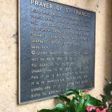 Prayer of Saint Francis, Santa Fe, New Mexico