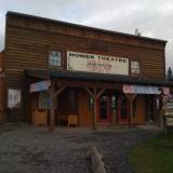 The movie theater in Homer, Alaska