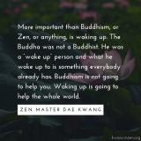 Buddhism is not going to help you