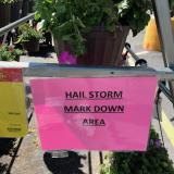 Hailstorms in Colorado (and markdown sales)