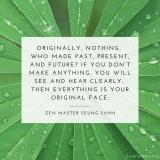 Everything is your original face