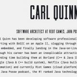 Carl Quinn, software developer, passes away from the Coronavirus