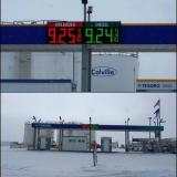 Gas prices on Alaska's north slope