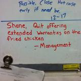 Funny Shane signs