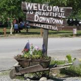 Welcome to Beautiful Downtown Talkeetna
