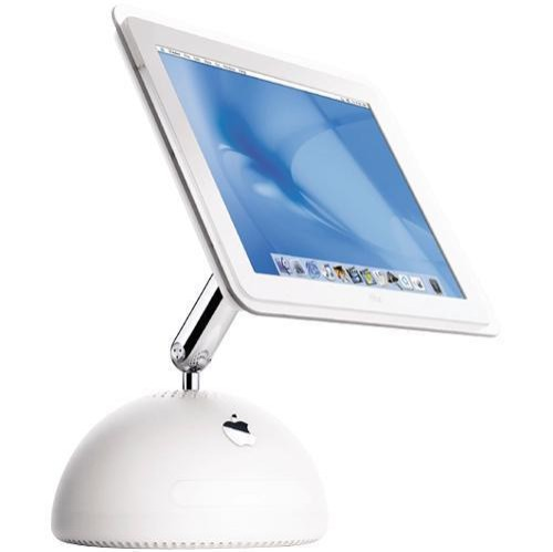 2002 iMac G4 as an iPad Stand