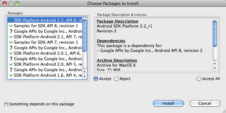 Android ADT Eclipse installation