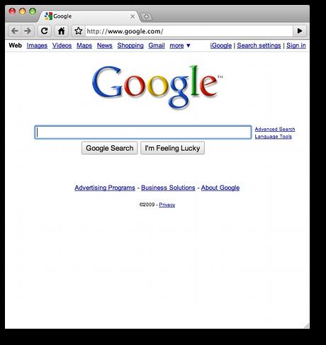 Google Chrome for Mac OS X - a review | alvinalexander com