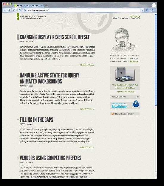 cleanest website designs