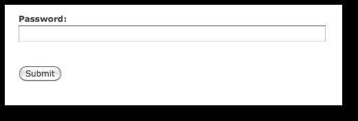 Drupal form password field examples | alvinalexander com