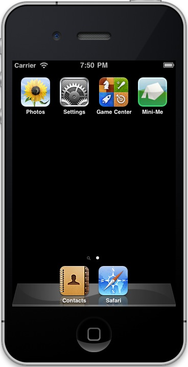 Setting an iPhone HTML app icon (iPhone home screen app icon)