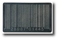 Geek gifts - Barcode Doormat