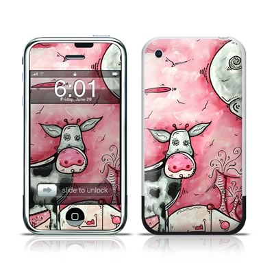 Skins for iPhone - DecalGirl cow