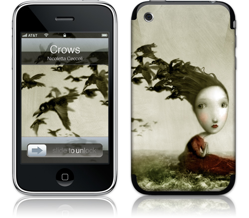 Skins for iPhone - GelaSkins Crows