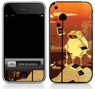 Skins for iPhone - Infectious (G Carter)