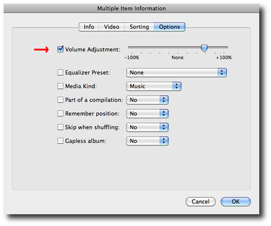 iTunes volume control - How to normalize iTunes volume for individual songs