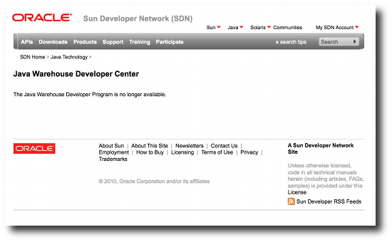 Java App Store is dead (and Oracle killed it) | alvinalexander com