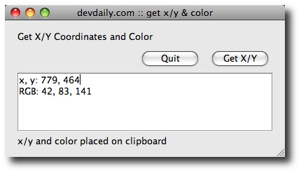 Java on OS X - A free Mac/Java application to get the mouse