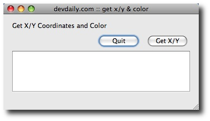 Java on OS X - A free Mac/Java application to get the mouse cursor