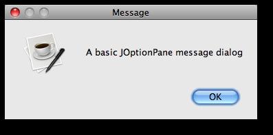 Java: JOptionPane showMessageDialog examples (part 1