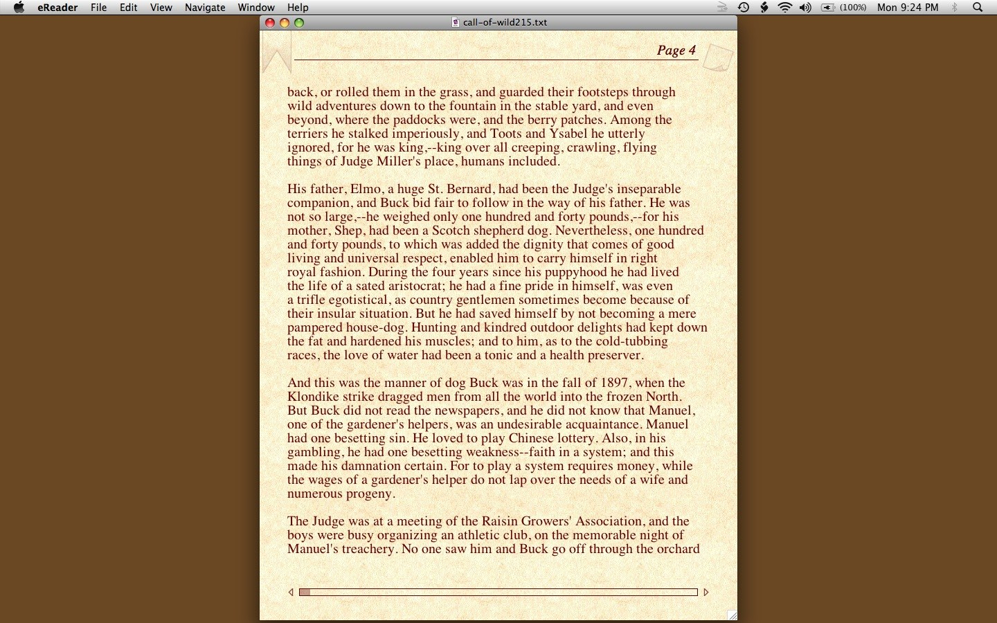Mac eReader review - eReader Pro for Macintosh