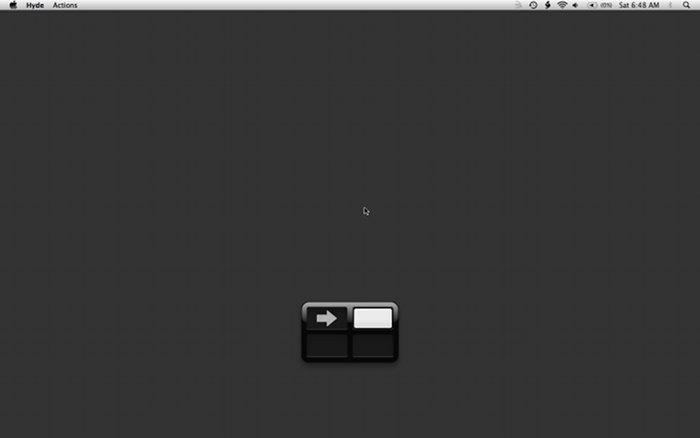 Moving from left to right with Mac Spaces