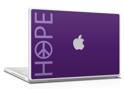 Mac and MacBook skin - Hope design