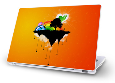 MacBook skins fantasy design / artwork
