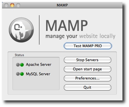 MAMP - Mac OS X, Apache, MySQL, and PHP (and CakePHP too