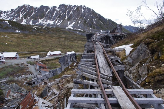 A Pentax K-x photo in Independence Mine, Alaska